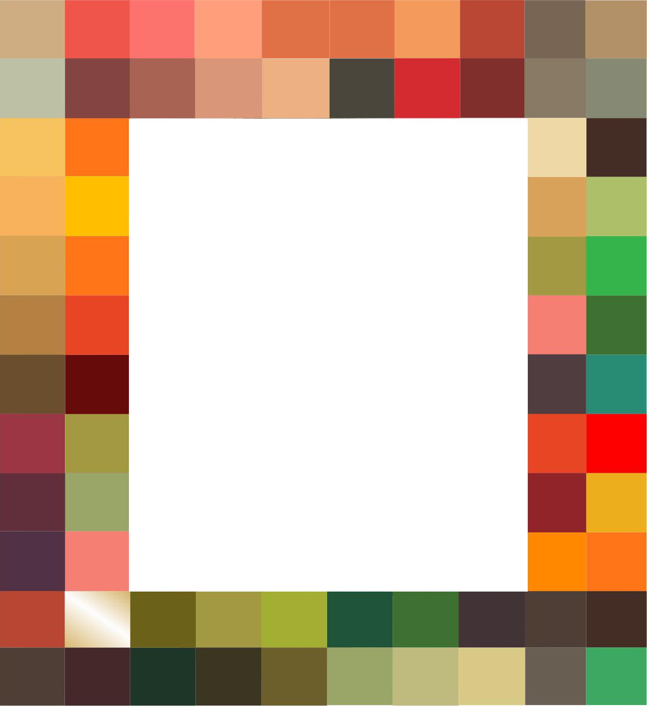 warm palette